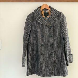 J. Crew Collection Metallic Brocade Silk Coat 2